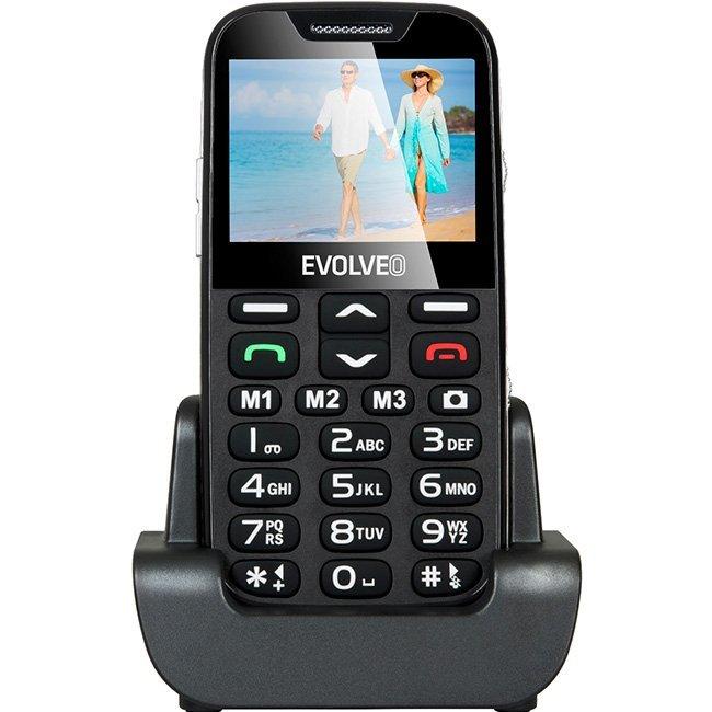 Телефон за възрастни EVOLVEO EasyPhone XD black