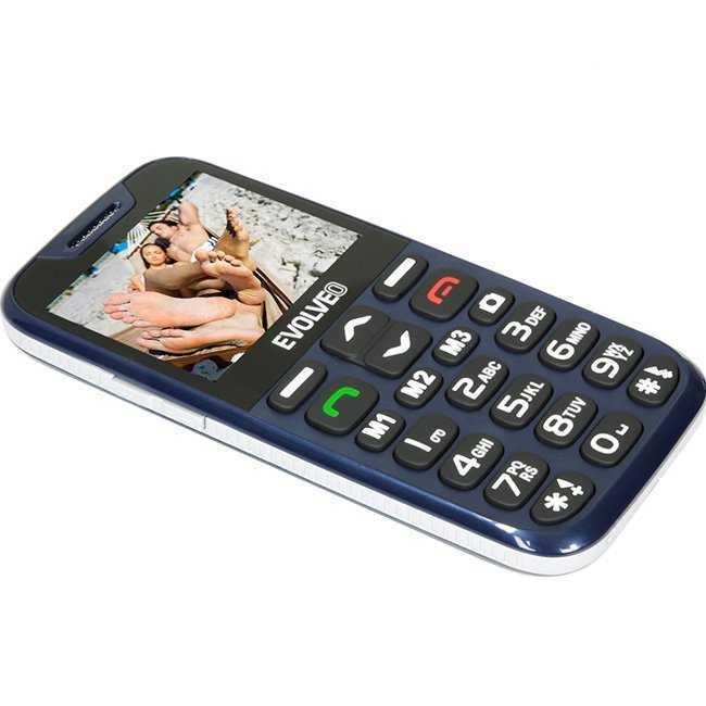 EVOLVEO EasyPhone XD blue