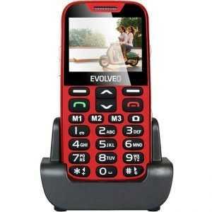Телефон за възрастни EVOLVEO EasyPhone XD red