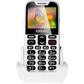 Телефон за възрастни EVOLVEO EasyPhone XD white