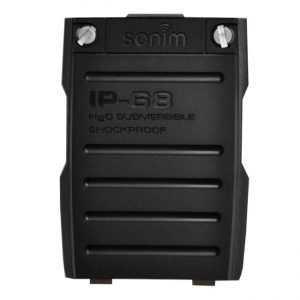 Капак за батерията за SONIM XPx300 в черен цвят