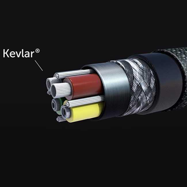 Кевларен кабел NoNDA ZUS KEVLAR Lightning