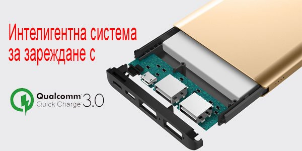 Външна батерия iWalk Chic 10000mAh