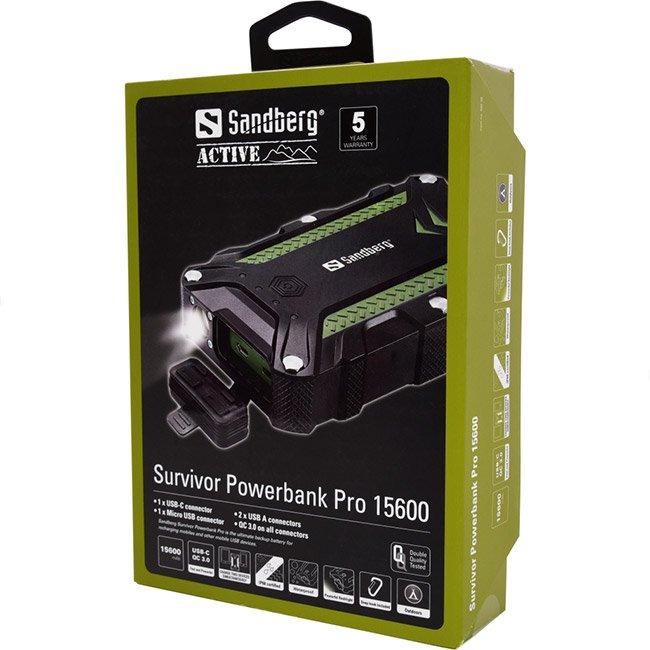 Sandberg Survivor Pro 15600mAh