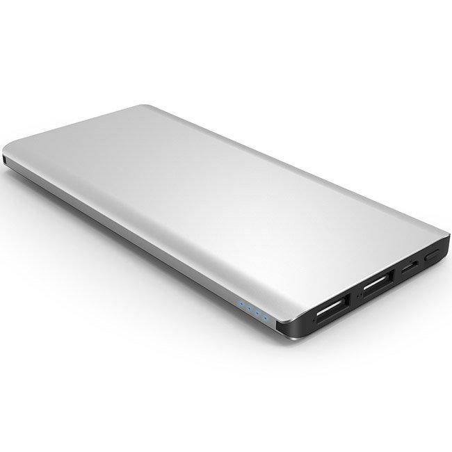 Външна батерия iWalk Chic Silver 10000mAh