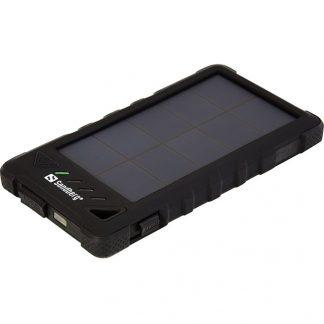 Външна батерия със соларен панел Sandberg Outdoor Solar Powerbank 8000mAh