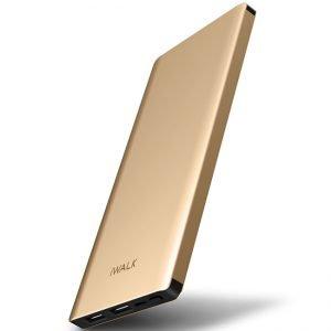 Външна батерия iWalk Chic 10000mAh Gold