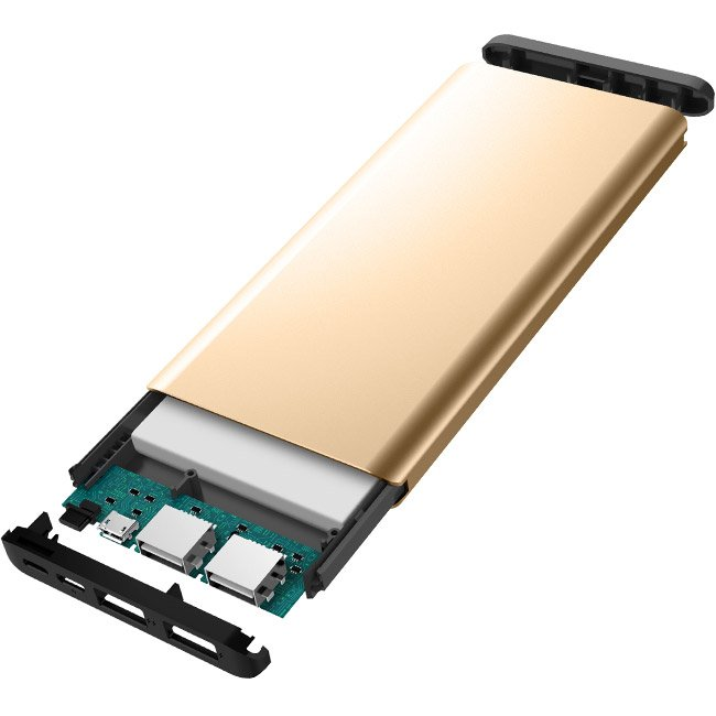 Външна батерия iWalk Chic 10000mAh Gold