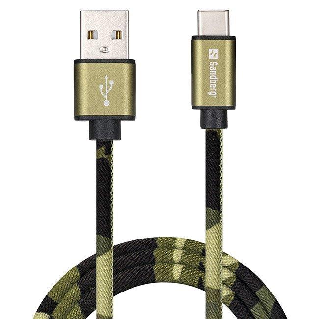 Кабел за данни Sandberg USB type C