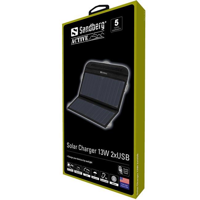 Соларен панел Sandberg Solar Charger 13W