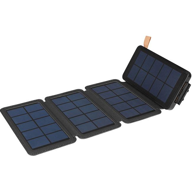 Външна батерия със соларен панел Sandberg 4-Solar Powerbank 12000mAh