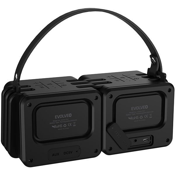 Bluetooth колонка EVOLVEO ARMOR 2x1