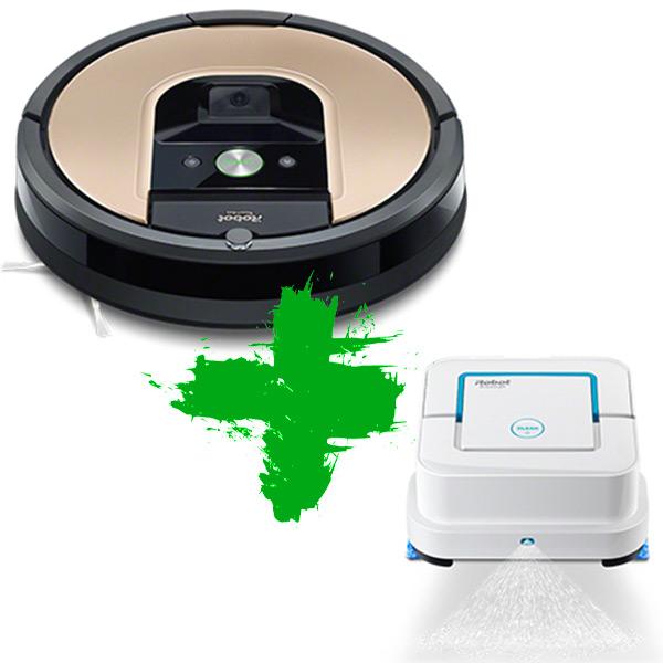 Roomba 976 + Braava jet 240