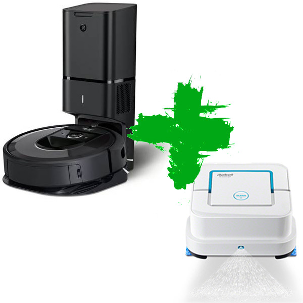 Roomba i7+ и Braava jet 240