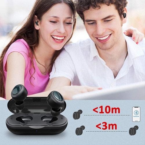 Безжични слушалки iWalk Bluetooth wireless stereo easrbuds