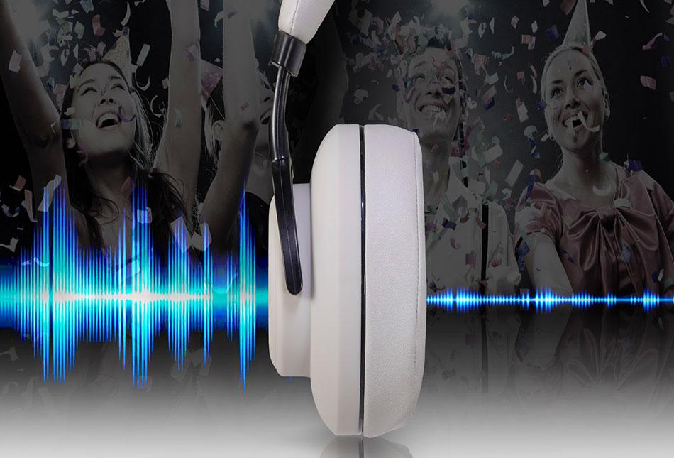 Stereo Bluetooth слушалки EVOLVEO SupremeSound 4ANC