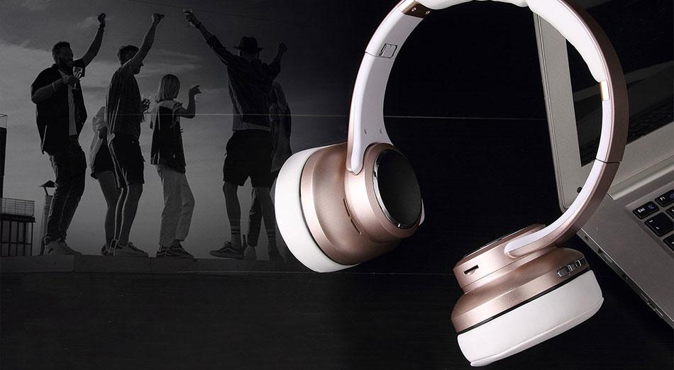 Stereo Bluetooth слушалки EVOLVEO SupremeSound 8EQ