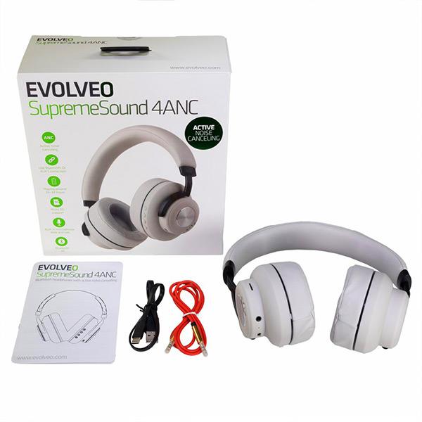 EVOLVEO SupremeSound 4ANC White